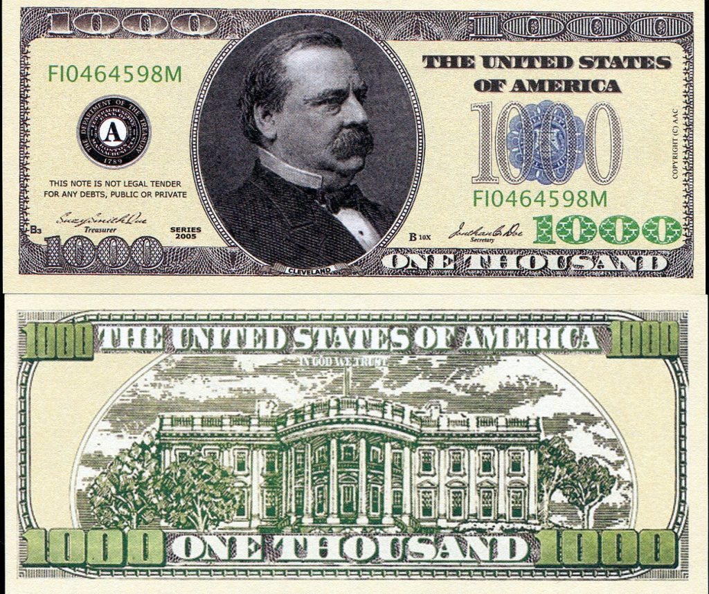 $1,000 cash prize