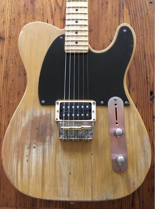 Close-up of 2018 Guitar